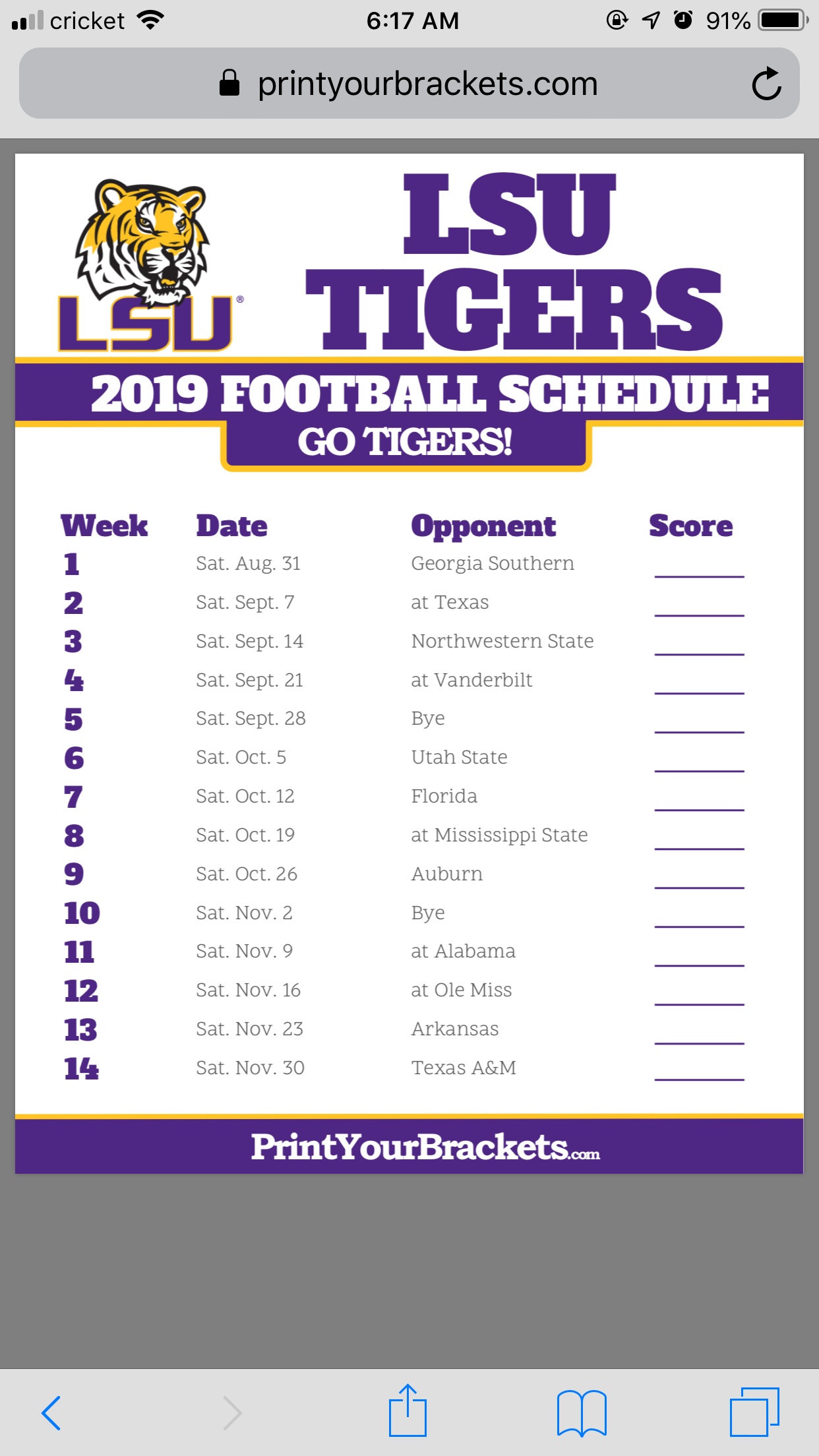 Can Someone Please Share 2019 Lsu Footba #1026309 - Png