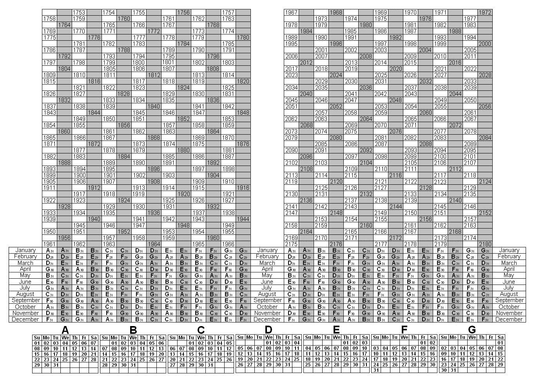 Depo-Provera Perpetual Calendar   Calendar Printables