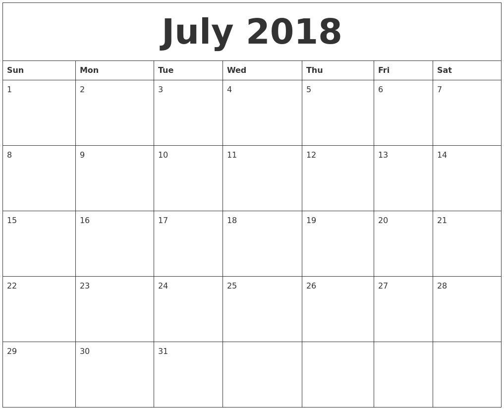 Extraordinary Blank Calendar Large Squares   Calendar