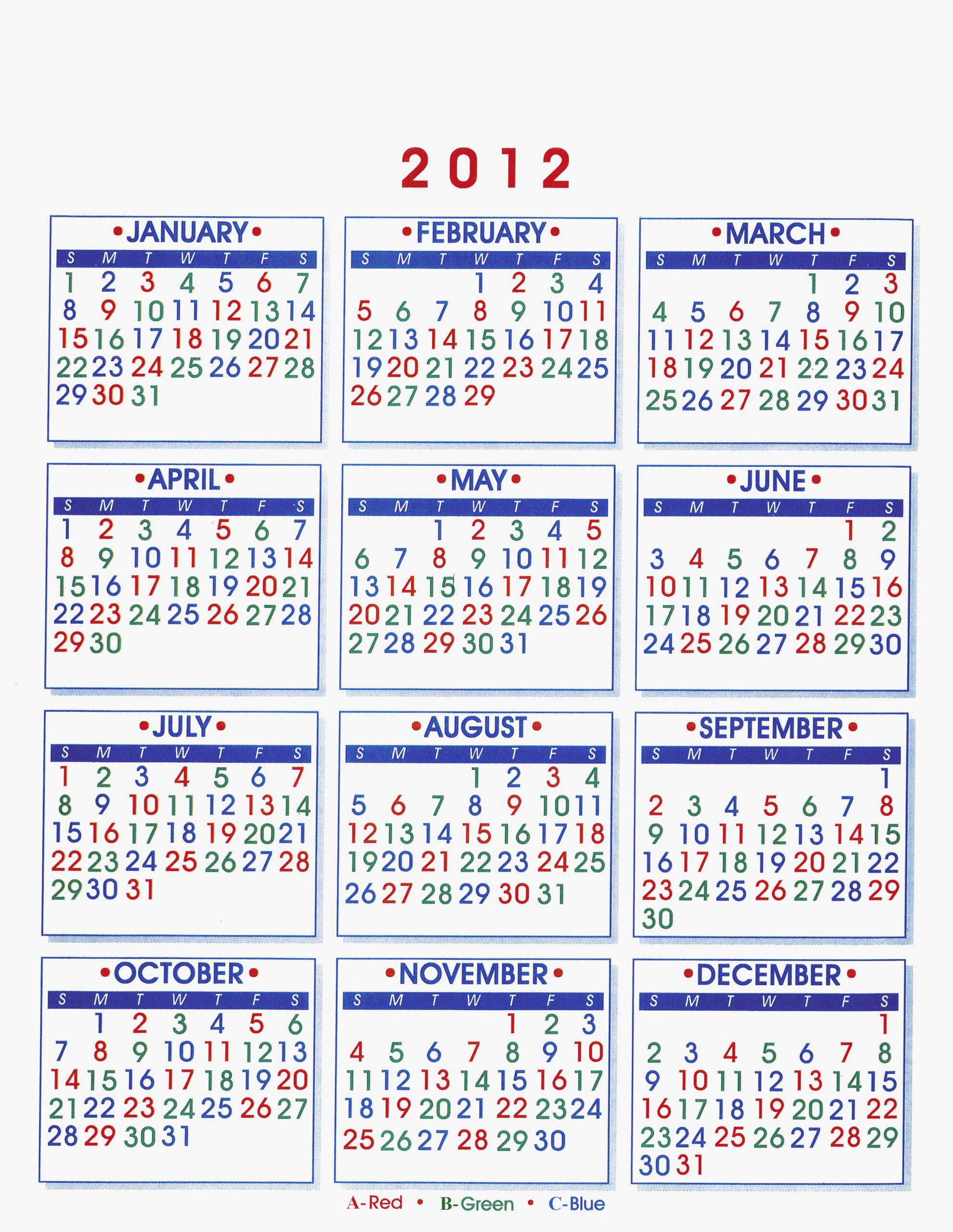 Firefighter Shift Calendar | Calendar Printables, Free
