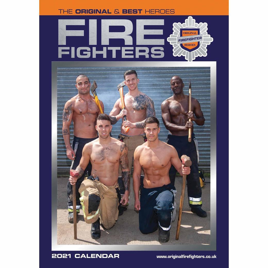 Firefighters A3 Calendar 2021 At Calendar Club