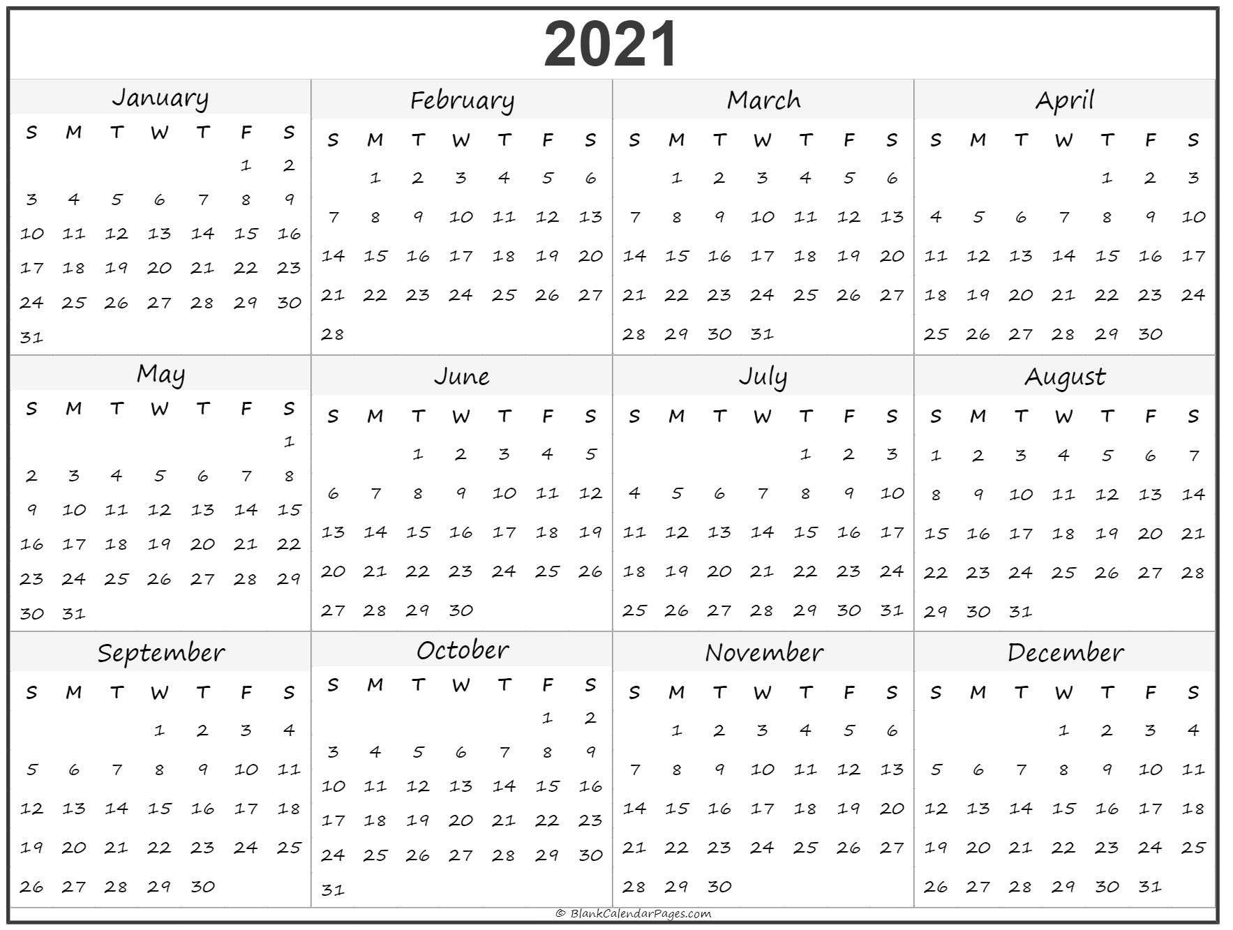 Free Printable Calendar 2021 Uk Blank For Free – Encouraged