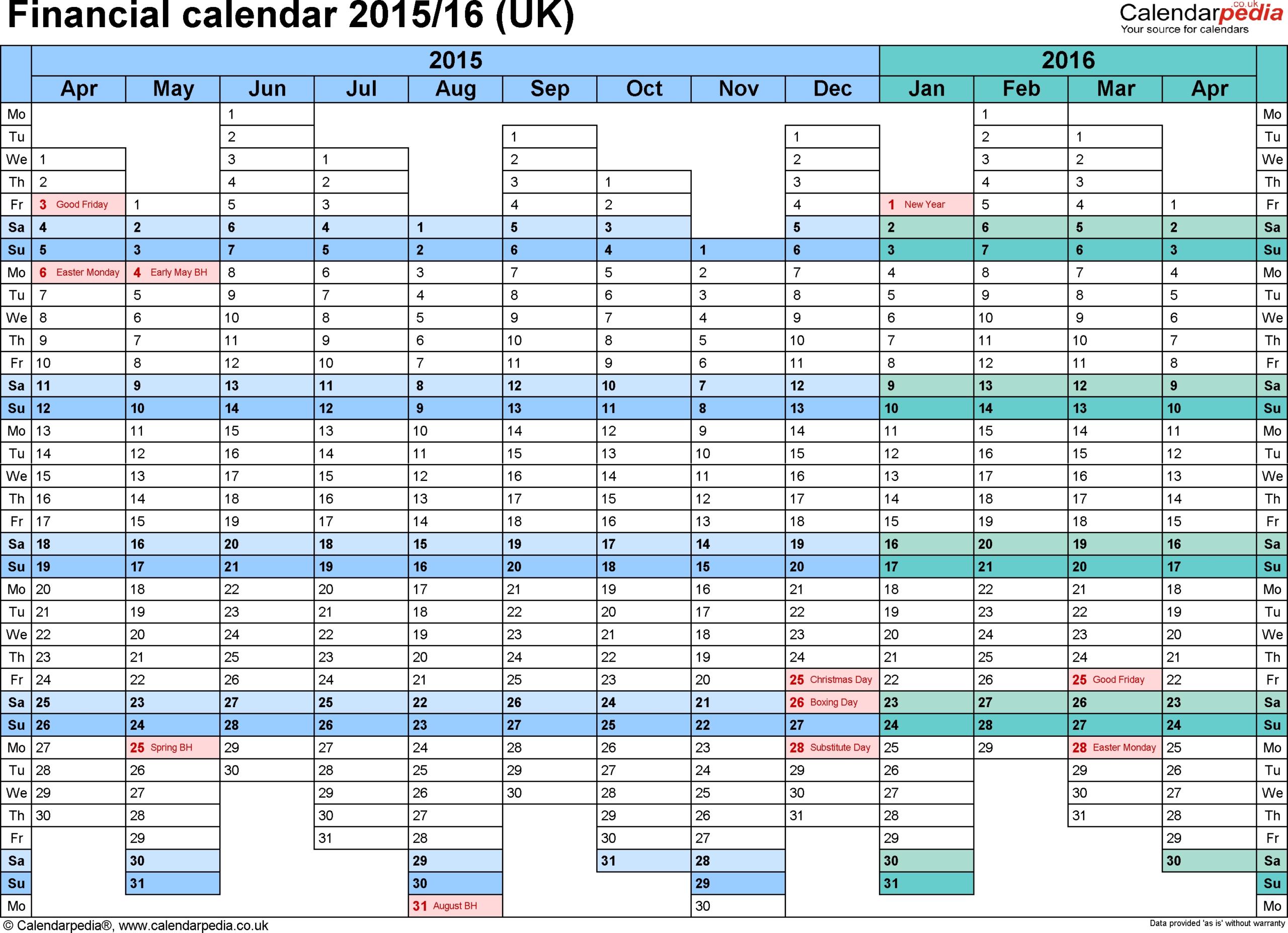 Hmrc Tax Week Calendar 2019 - Calendar Inspiration Design