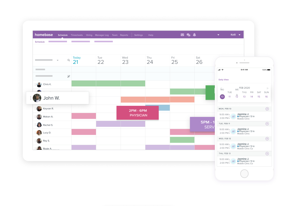 How Employee Shift Schedule Templates Can Make Work Easier