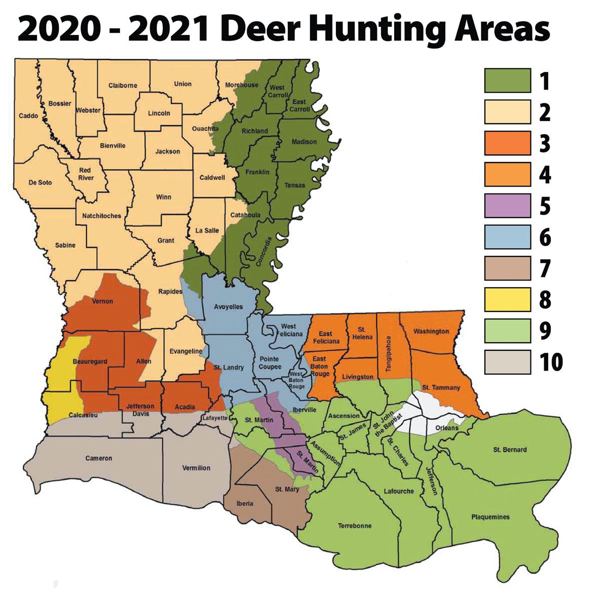 Louisiana'S 2020 Rut Report - Louisiana Sportsman