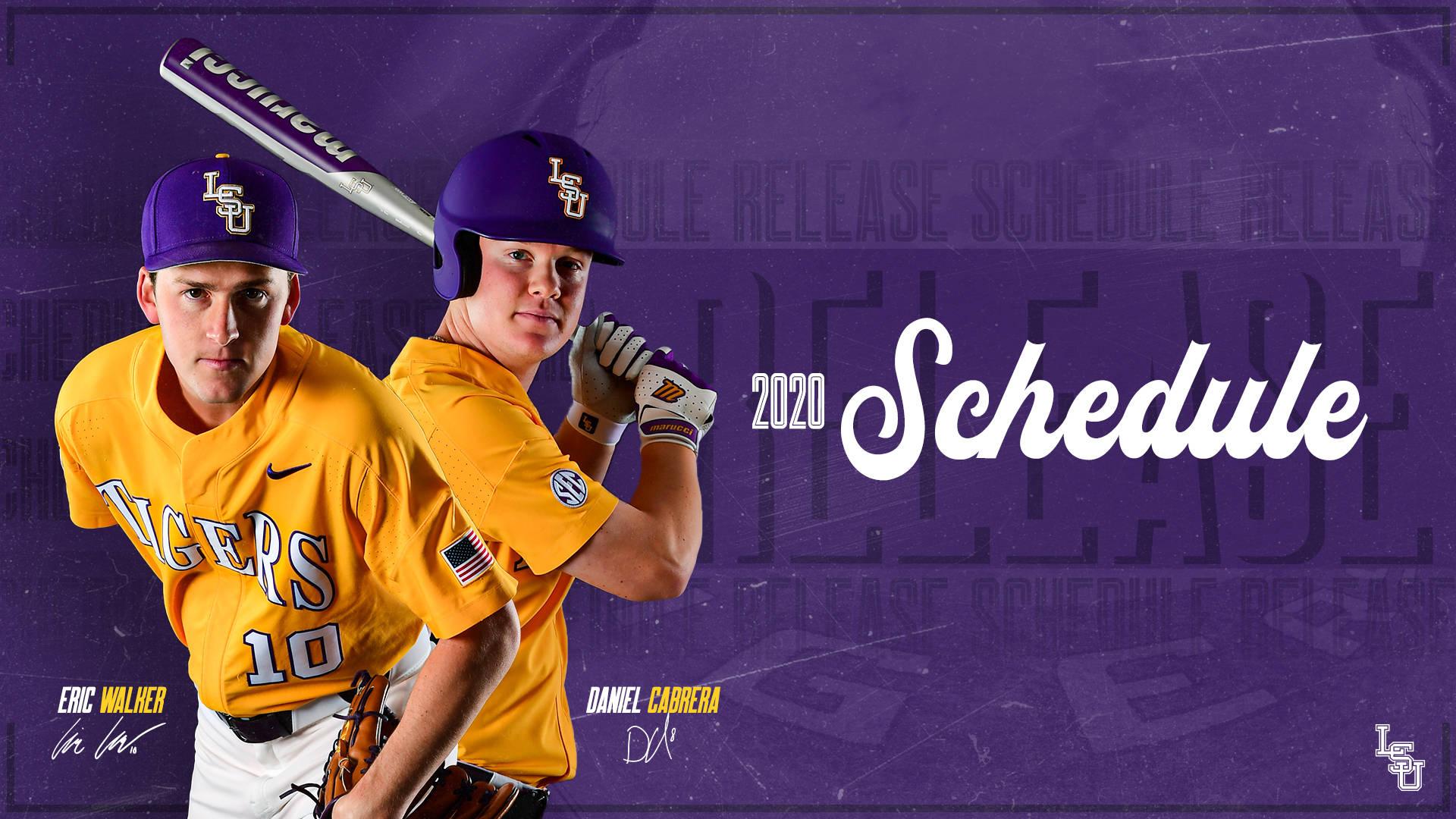 Lsu Reveals 2020 Baseball Schedule - Lsu Tigers