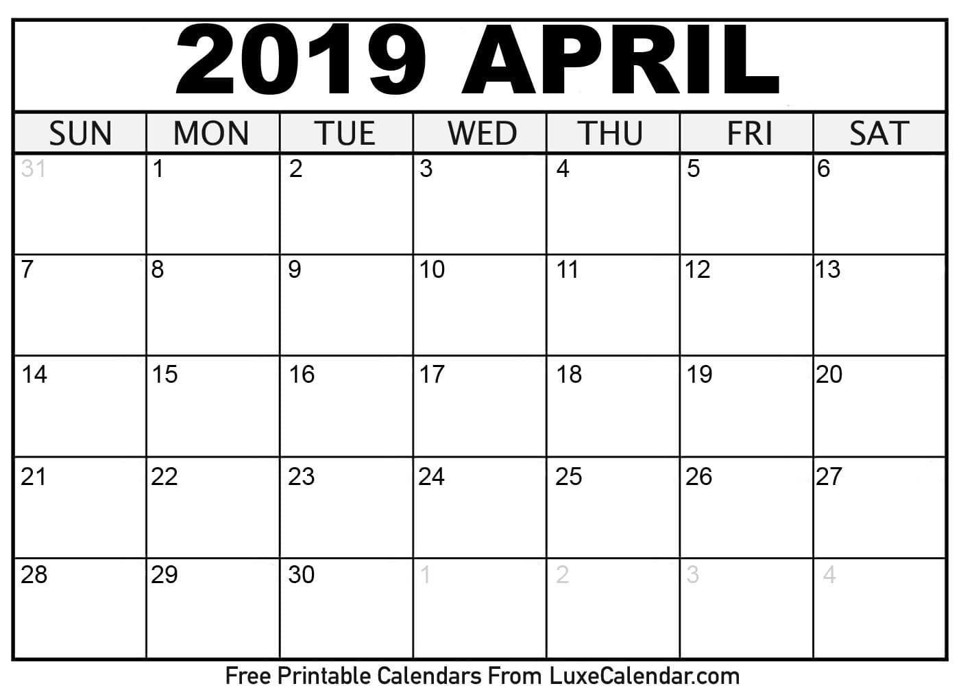 Perfect 8X11 Printable Monthly Calendar | Calendar Template