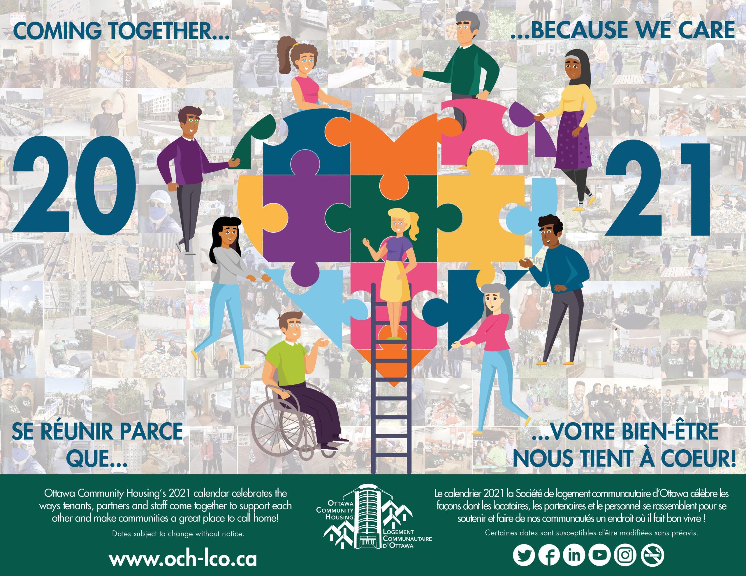 Tenant Calendar 2021 - Ottawa Community Housing (Och)