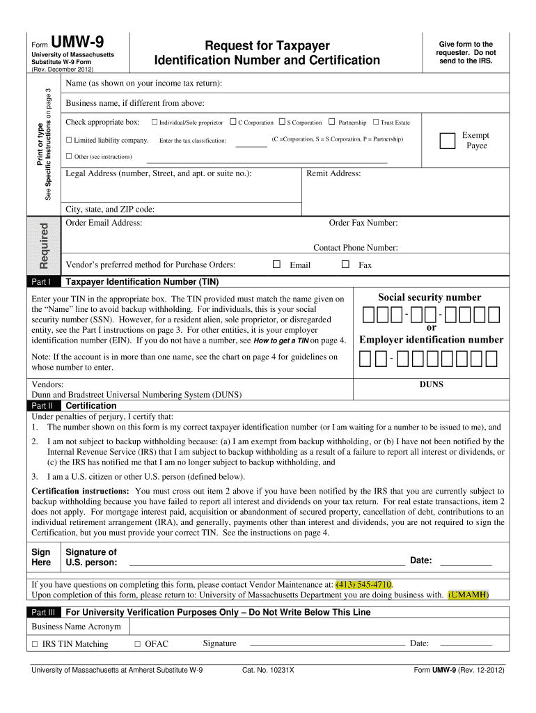W9 2019 - Fill Out And Sign Printable Pdf Template | Signnow