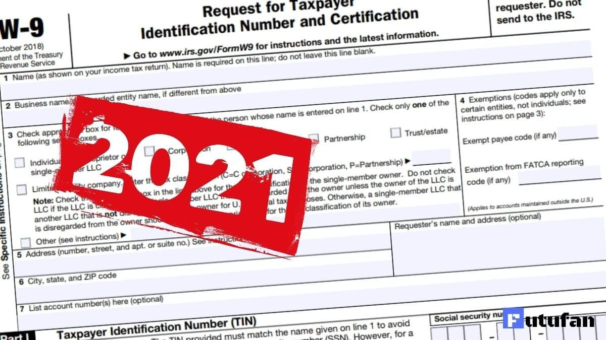 W9 Forms 2021 Printable | W9 Tax Form 2021