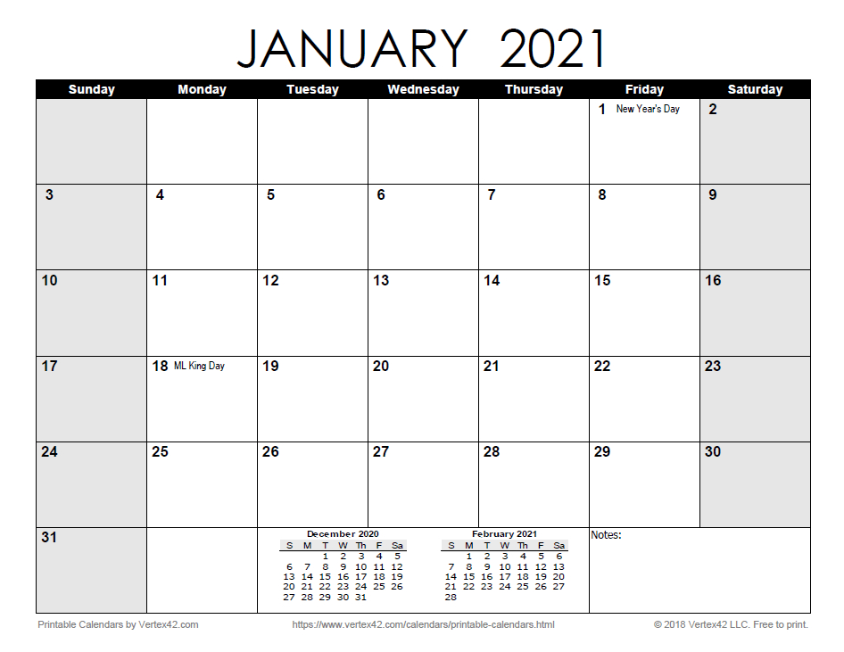 20+ Downloadable 2021 Calendar Template Word - Free