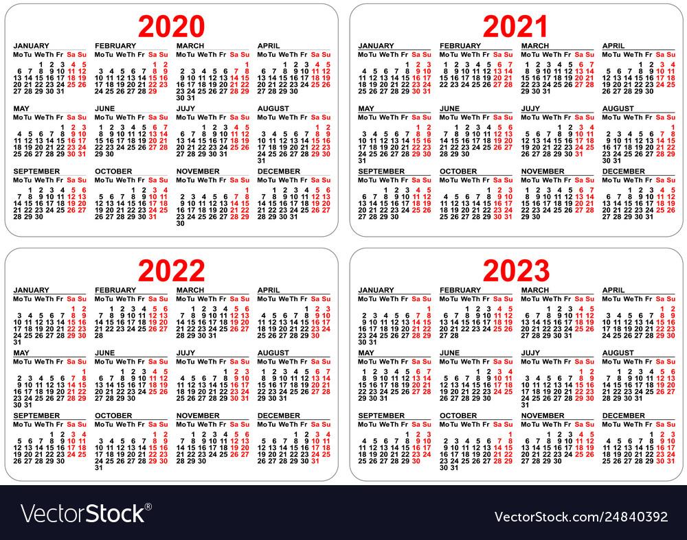 2020 2021 Pocket Calendar   Free 2021 Printable Calendars