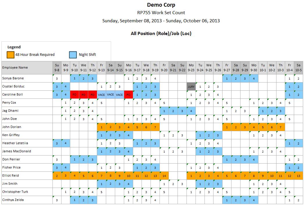 2021 12 Hour Rotating Shift Calendar - 2020 Firefighter