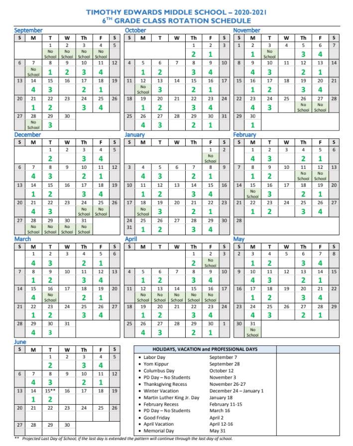 12 Hours Shift Calendar 2021