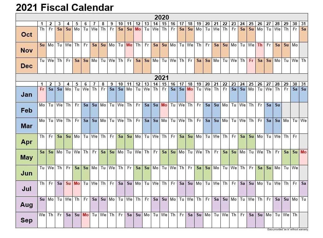 2021 Calendar Quaters   Month Calendar Printable