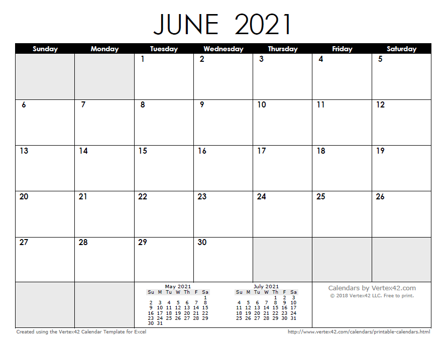 2021 Calendar Templates And Images In 2020 | Monthly