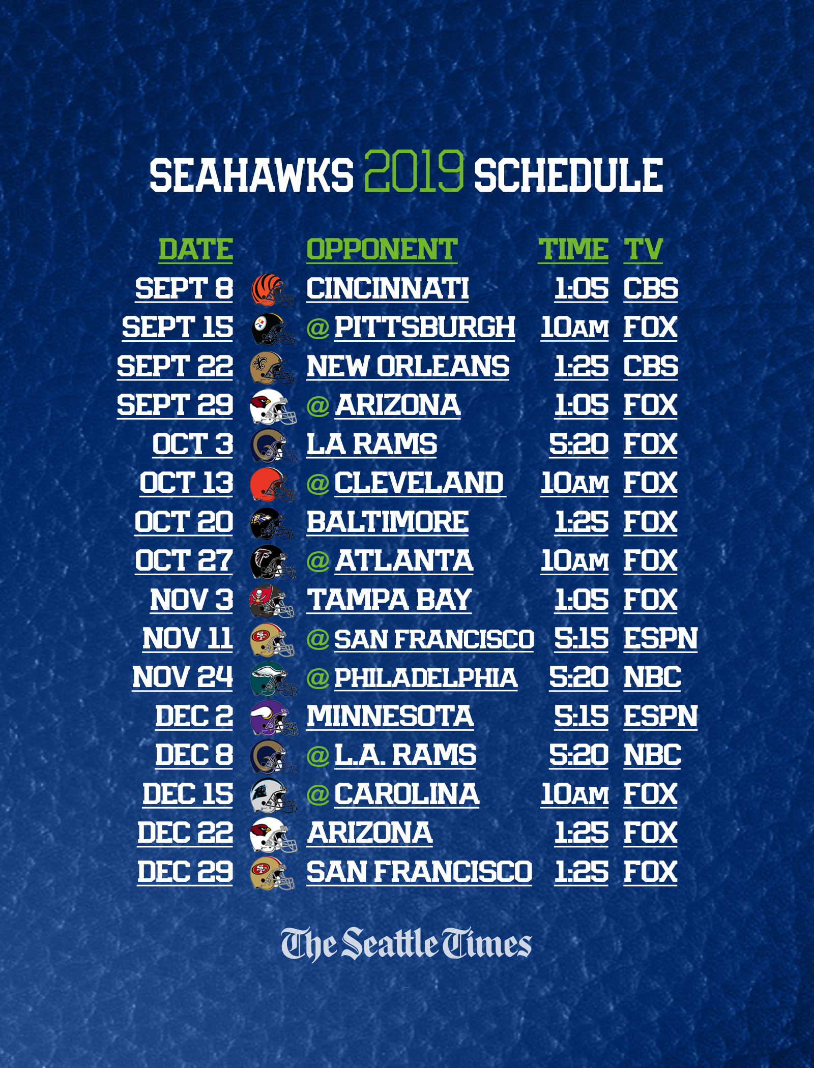 2021 Nfl Football Schedule Printable | Calendar Printables