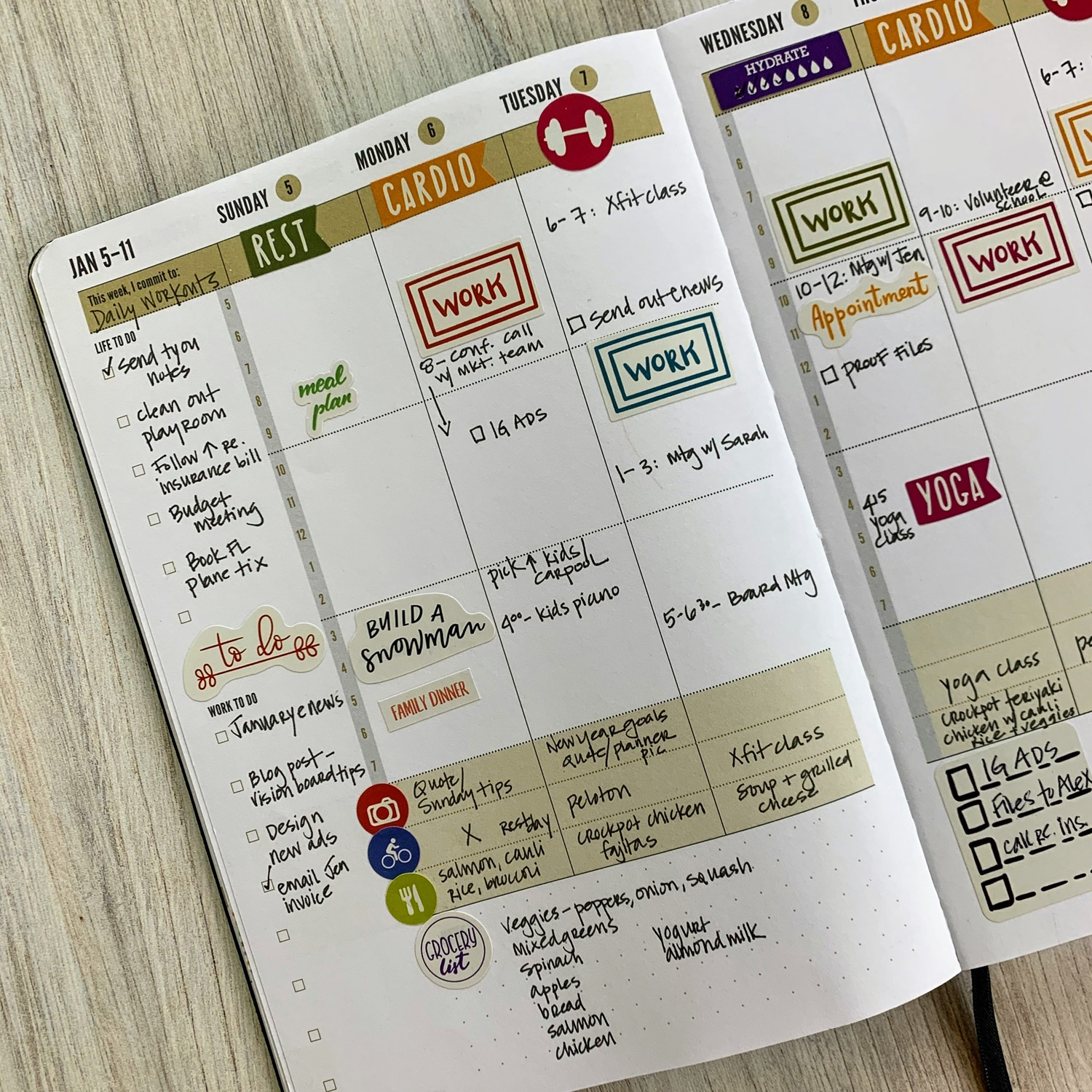 2021 Planner - New 2021 Weekly Day Planners On Sale! Commit30