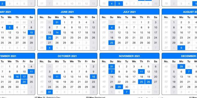 2021 Printable Us Calendar With Holidays   2021 Printable