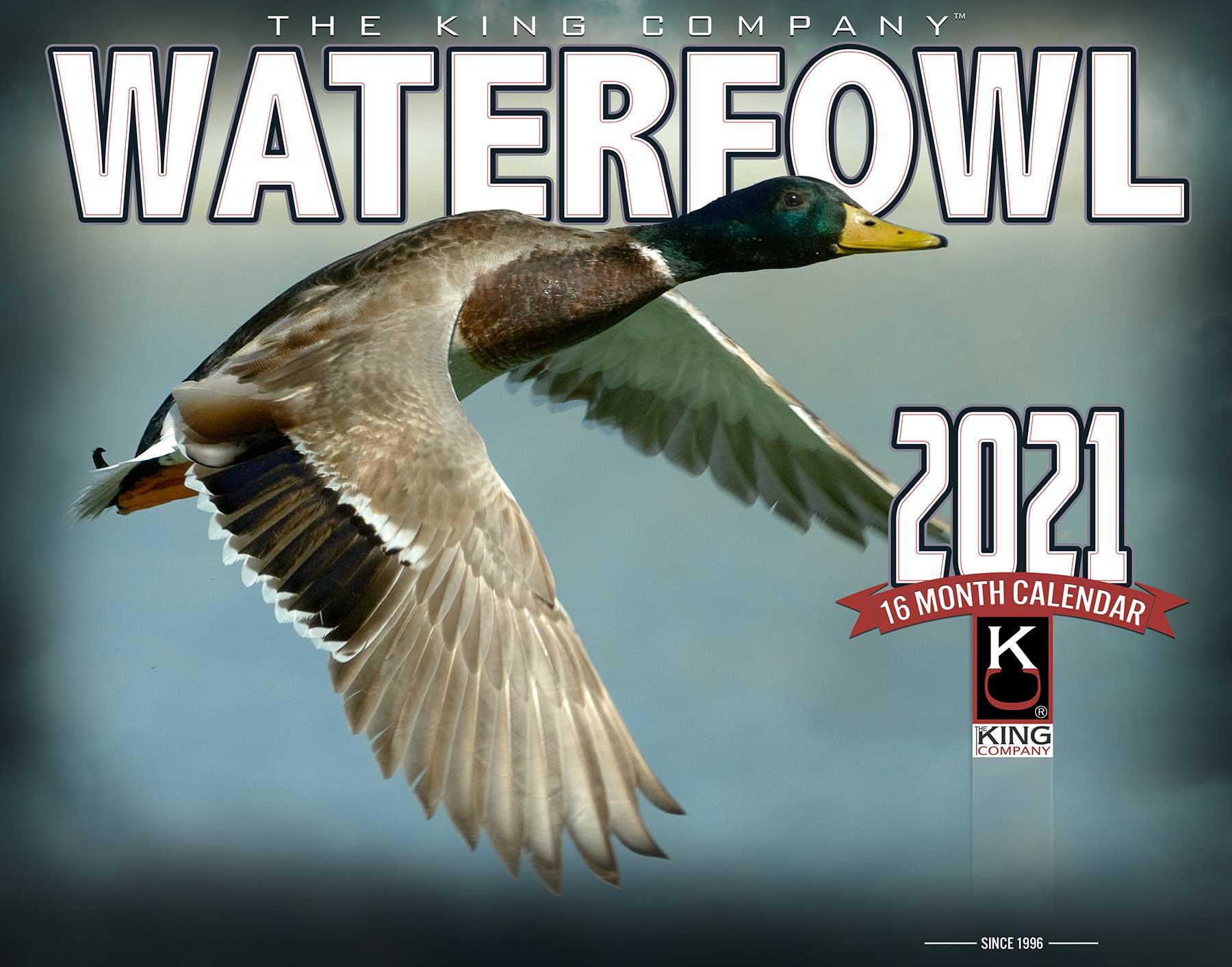 2021 Waterfowl Calendar - The King Company