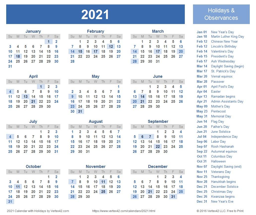 2021 Weekly Calendar Excel Free   Printable Calendar Design