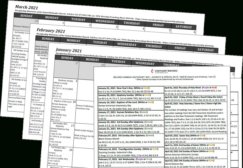 2021 Worship Planning Bundle - Disciples Ministries Store