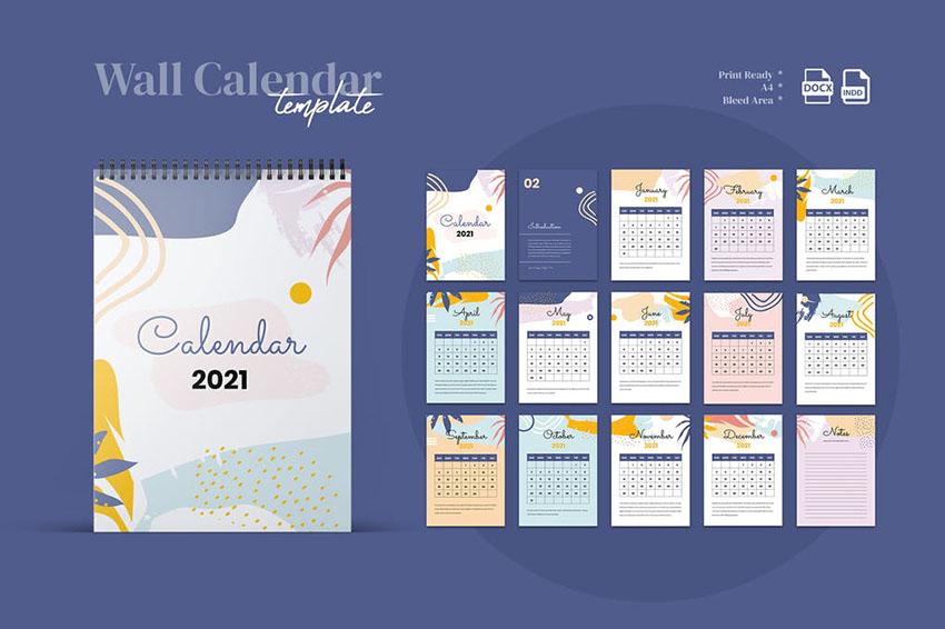 $99 Websites + Website Design: 25+ Best Indesign Calendar