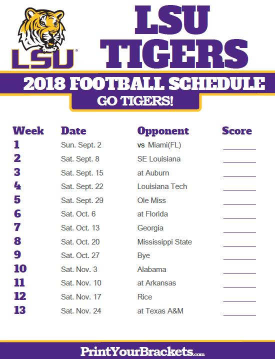 Alabama Football Schedule 2019 Printable