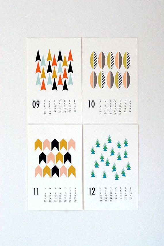 Best Of 2014 Calendars   Calendar Design, Season Calendar