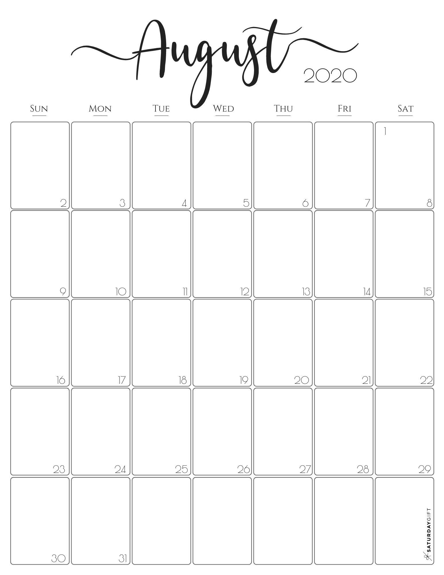 Best Printable Calendar June July August 2021 Free With