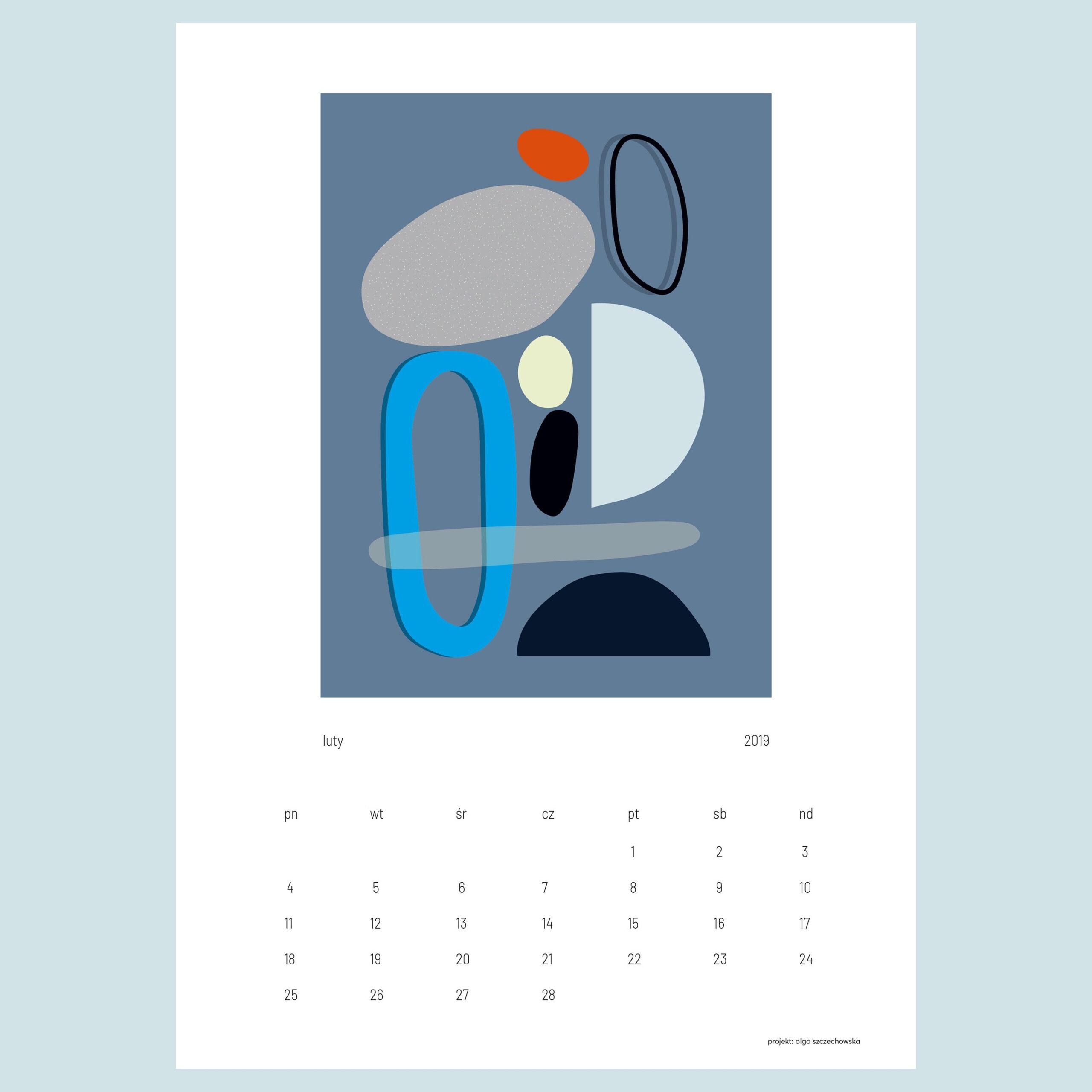 Calendar 2019 On Behance   Calendar, 2019 Calendar