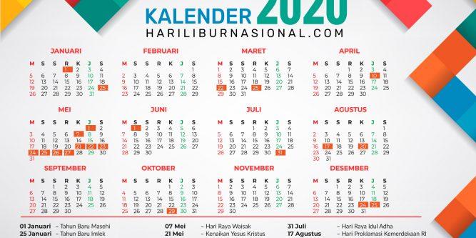 Calendar 2020 With Pockets | Printable Calendar Free - Part 56