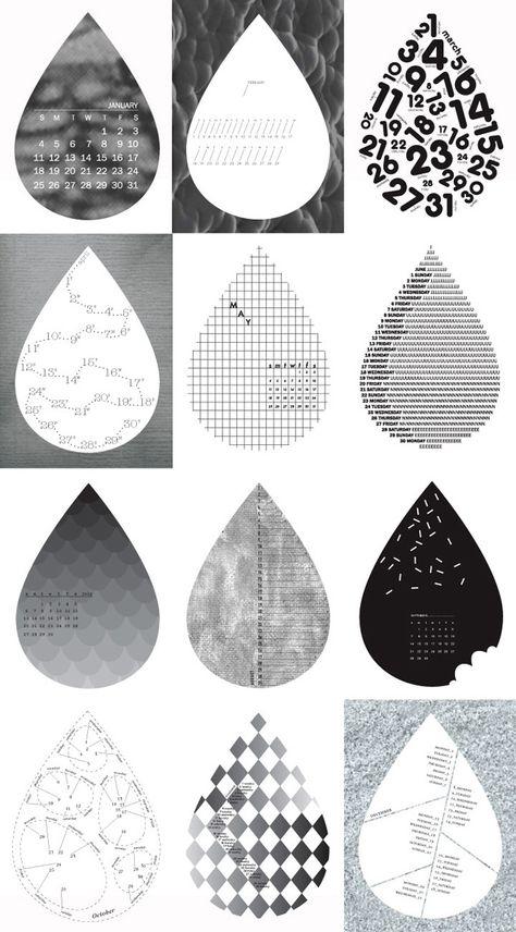 Calendar - Emma Busk - Graphic Design (With Images
