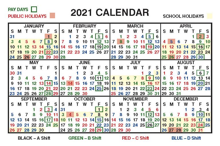 Calendar For Shift Work 2021   Calendar Printables Free Blank