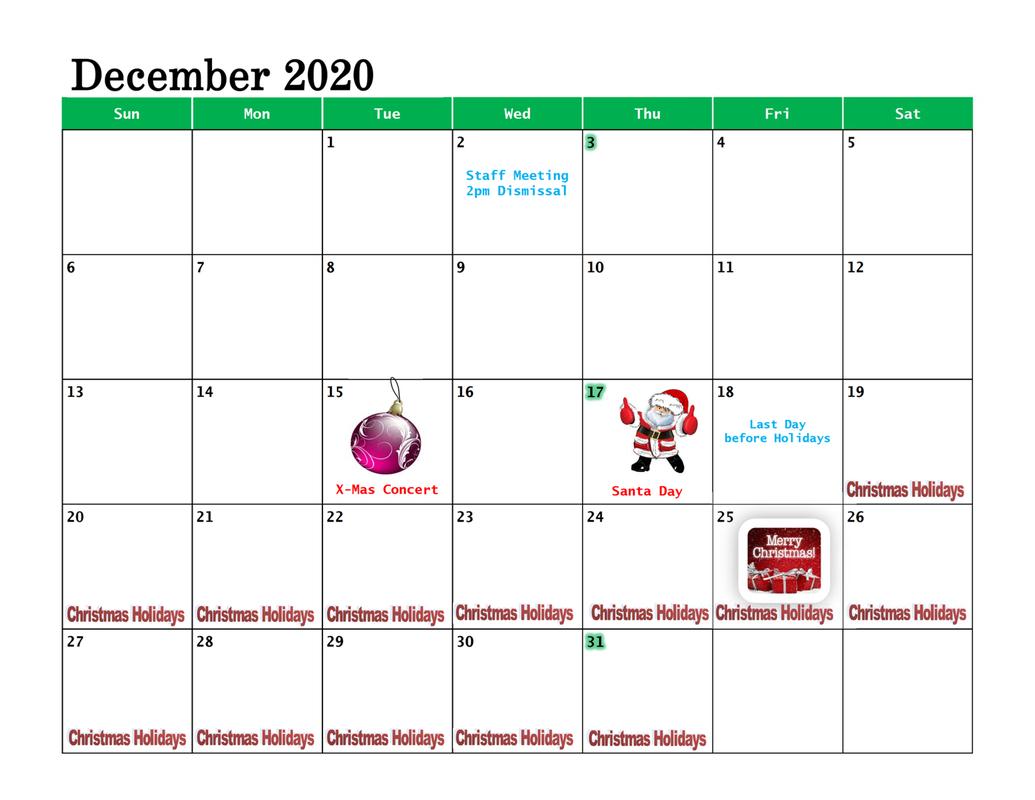 Calendar - Ndkms