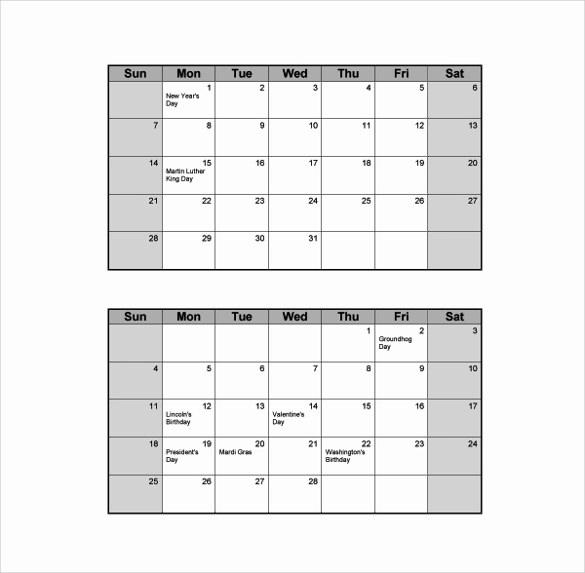 Calendar   Template Business Psd, Excel, Word, Pdf
