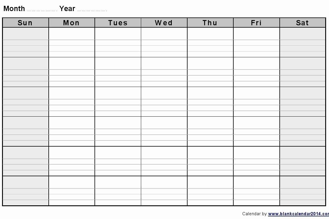 Calendar Week To Print   Month Calendar Printable