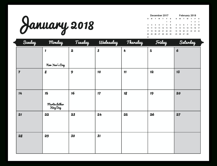 Calendar Wizard Indesign | Calendar Template Printable