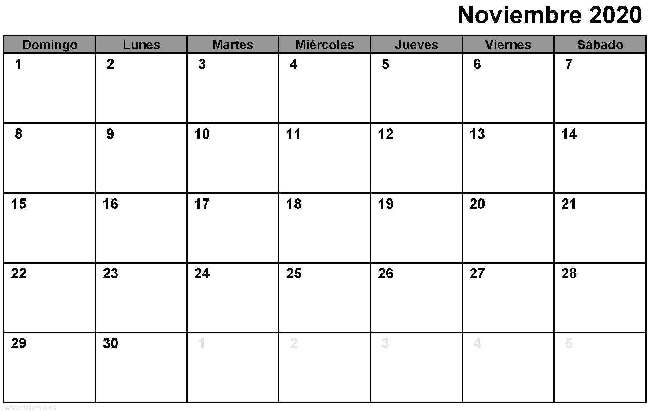 Calendario 2021 Con Meses Y Semanas Como Pdf, Excel Y