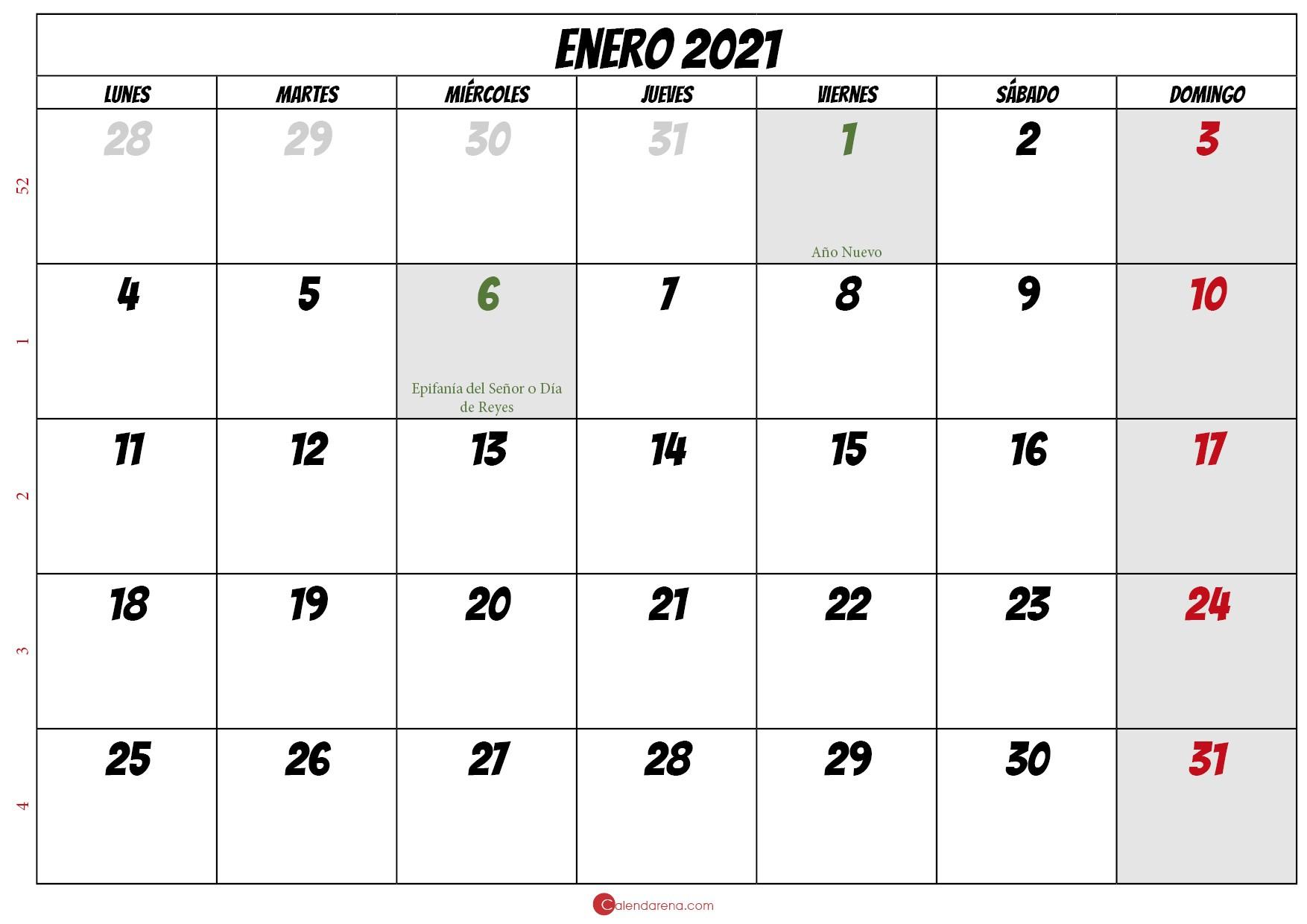 Calendario Diciembre 2021 Para Imprimir Pdf