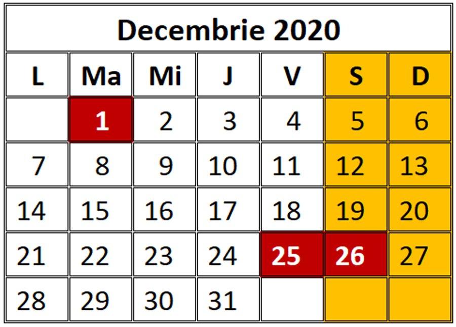 Calendarul Sărbătorilor Legale În 2020. Câte Zile Libere