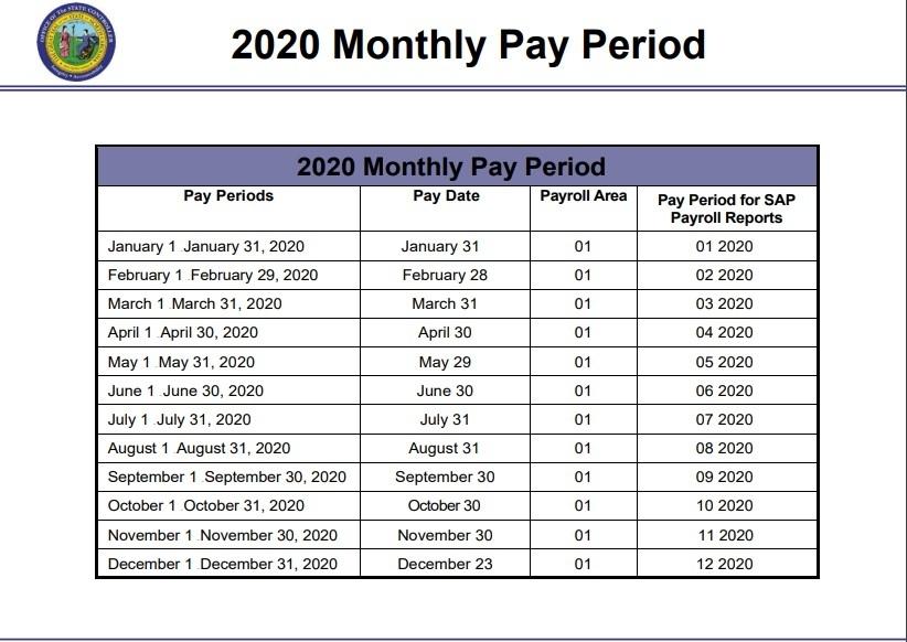 Ccsf Payroll Calendar 2021 | Qualads