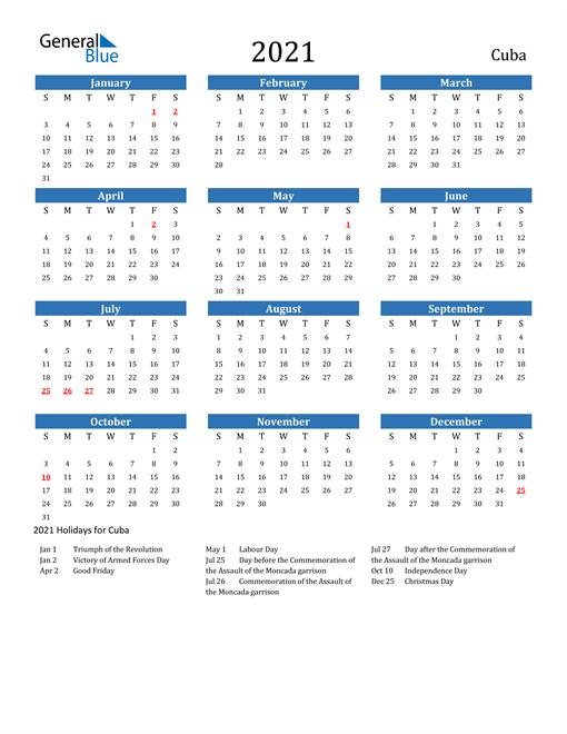 Cu Calendar 2021 | Calendar 2021