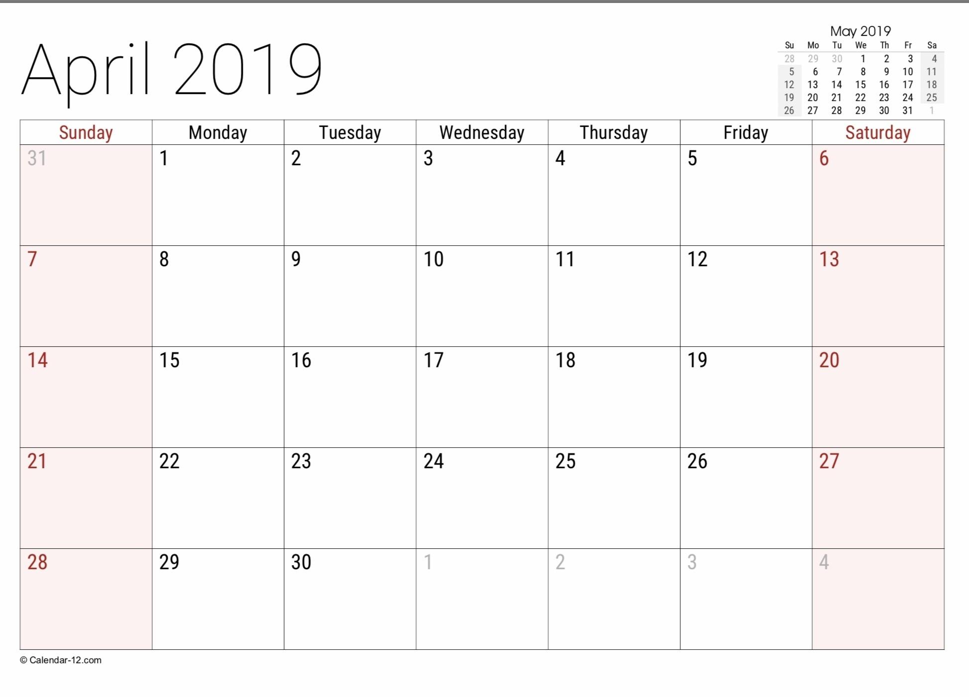 Fill In Calendar Printable 2021 | Calendar Template Printable