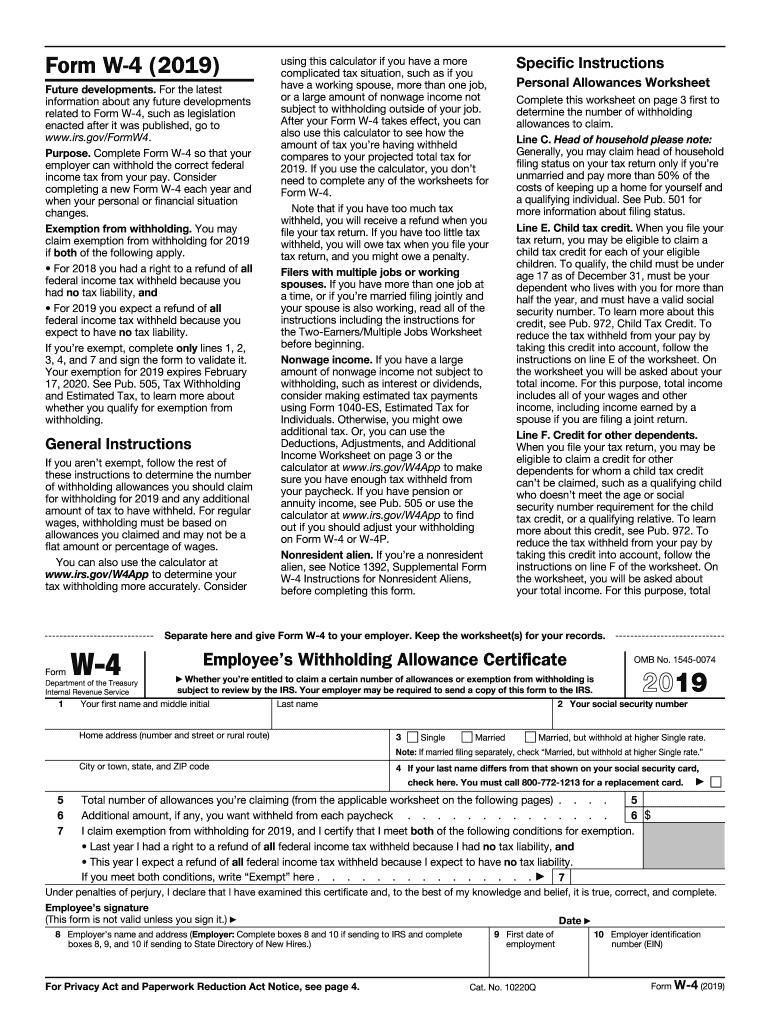 Form I9 Employment Eligibility Verifications Pdf - Fill