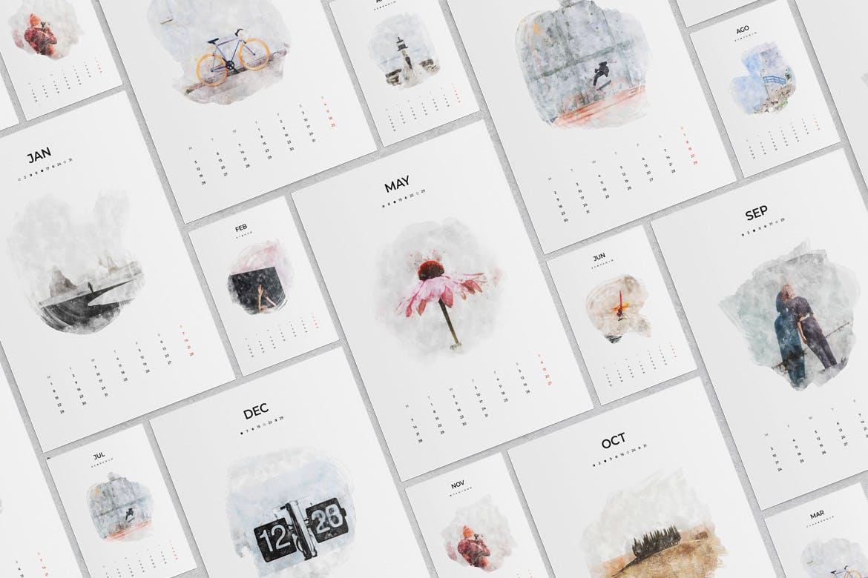 Free Calendar Templates 2021 Indesign - Printablecalendarr
