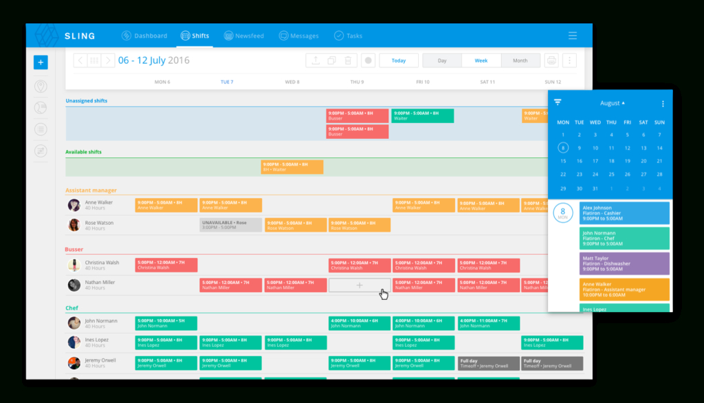 Free Employee Scheduling Software | Best Apps & Tools In 2021