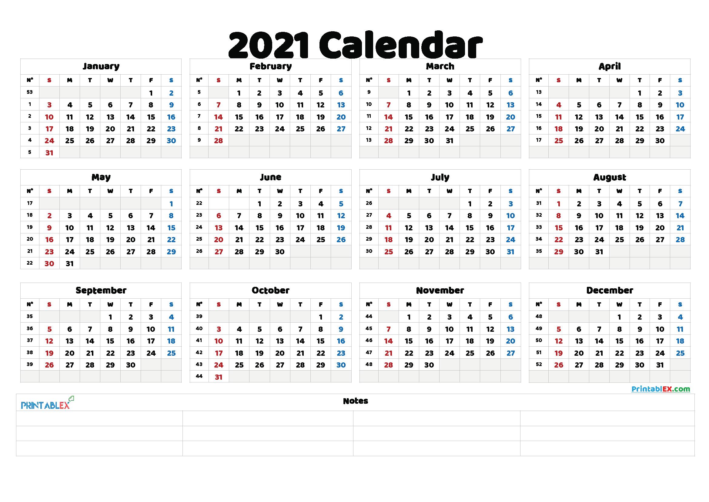 Free Printable 2021 Calendar With Religious Holidays   Free 2021 Printable Calendars