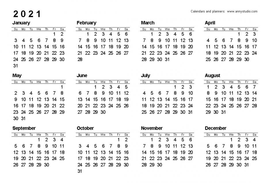 Free Printable Calendar 2021 Uk | Free Letter Templates