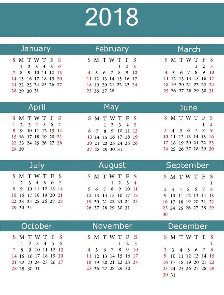 Free Printable Monthly Calendar   Blank Calendar Template
